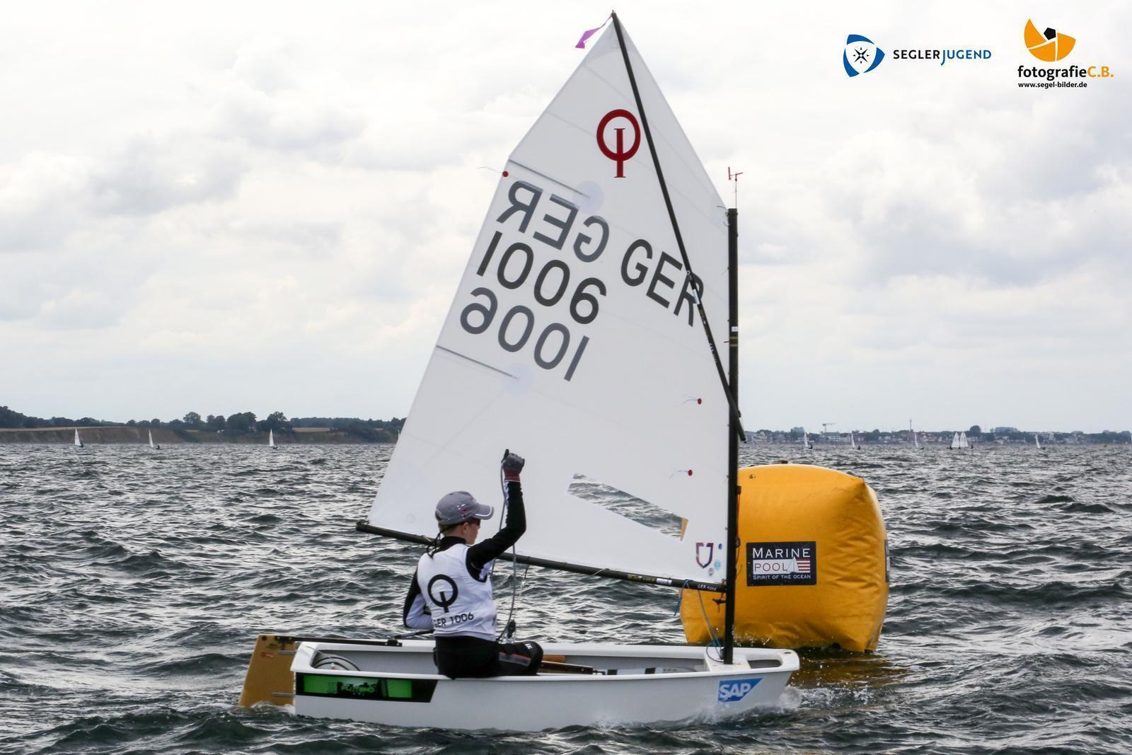 Opti GER1006 FlorianRACHMANN SeglergemeinschaftLohheide2017.07